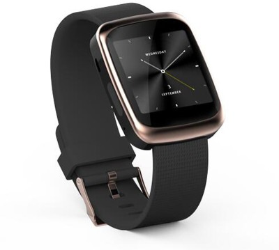 Velocity V2G Rose Gold Smartwatch (Black Strap)