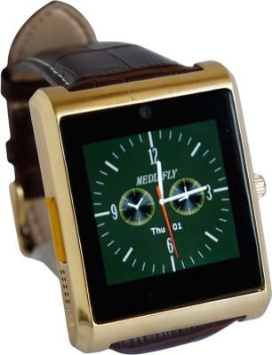 RDWorld W3 silver Smartwatch (Brown Strap L)