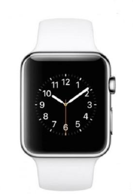 General Aux Touch Screen, SIM Card Slot Smartwatch (White Strap)