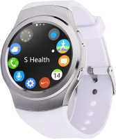 Bingo C4 BLACK Absolute Disc Touch With Android & IOS Sim Support Smartwatch (White Strap)