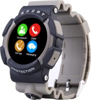 Bingo C3 GREY Waterproof Compatible With Android And IOS System Smartwatch (Grey Strap)