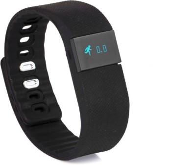 Urbannsmart health sport Smartwatch (Black Strap)