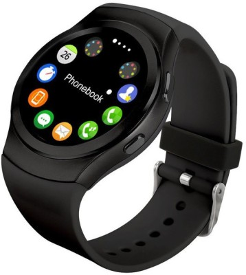 epresent HEART RATE MONITOR Smartwatch (Black Strap)