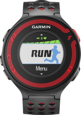 Garmin Forerunner 220 GPS Smartwatch (Black, Red Strap)