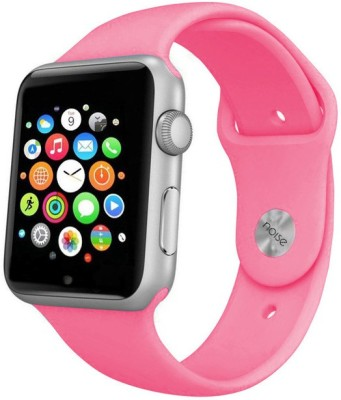 Noise Urge Silver-Pink Smartwatch (Pink Strap)
