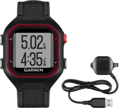 Garmin Forerunner 25 Smartwatch (Black Strap)