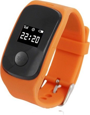 FindU FK02S Orange Smartwatch (Orange Strap)