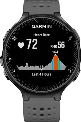 Garmin Forerunner 235 Grey Smartwatch(Grey Strap) low price