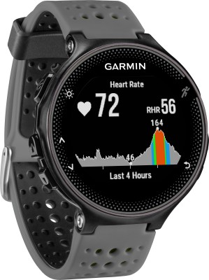 Garmin Forerunner 235 Grey Smartwatch (Grey Strap)