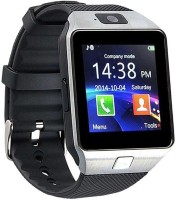 U8Plus Silver Smart Men Watch With Memory Card And Sim Slot Smartwatch (Black)