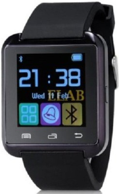 General Aux U8 Smartwatch (Black Strap)