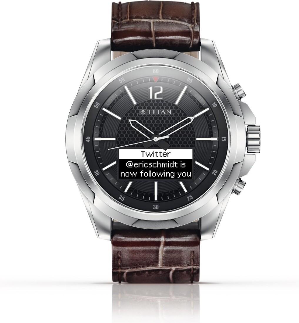 Titan Juxt Stainless Steel 90055SL01J Smartwatch