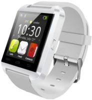 Aomax Smart Watch For All Smart Mobile Smartwatch (White Strap)