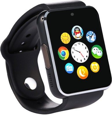 Bingo T50 Black Mobile Single Sim Slot Smartwatch (Black Strap)