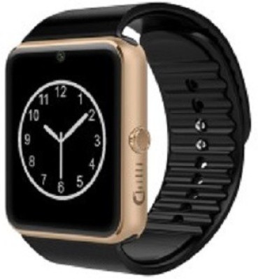 WDS Unique Stylish SW Black Smartwatch (Black Strap)