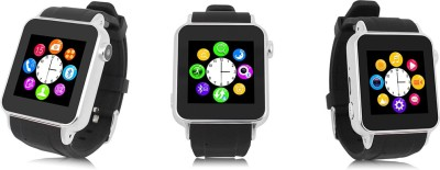 Kingshen Bluetooth Watch Phone S69 Smartwatch (Black Strap)
