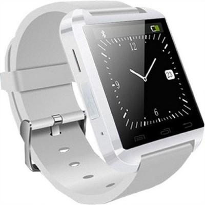 Jas U8 Smartwatch (White Strap)