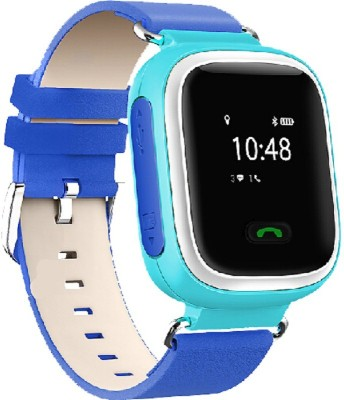 FindU FK01S Blue Smartwatch (Blue Strap Adjustable Strap Length)
