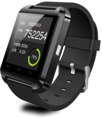 Anav U8 Smart watch bluetooth Smartwatch (Black Strap)