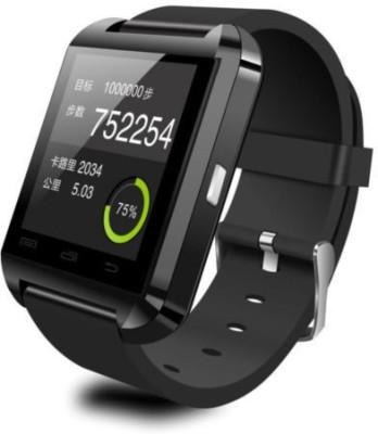 Anav U8 Smart watch bluetooth Smartwatch (Black Strap)