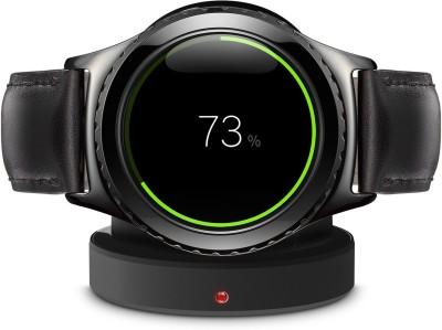SAMSUNG Gear S2 Classic Black Smartwatch (Black Strap)