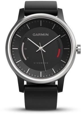 Garmin Vivomove Sport Smartwatch (Black Strap)
