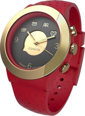 COGITO Fit Smartwatch (Red Strap)