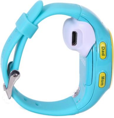 Traikoo Spatch Blue Smartwatch (Blue Strap)
