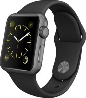 Apple Sport Watch With Black Sport Band 38 Mm Case Smartwatch (Black)