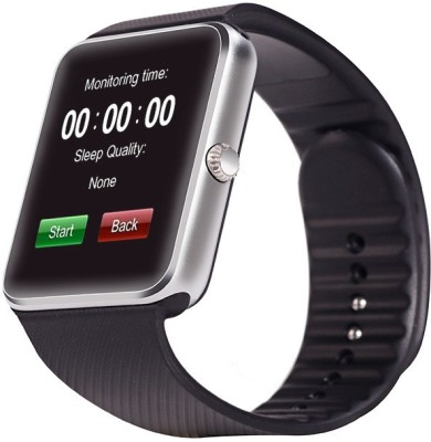 Maya GT08 Smartwatch (Black Strap)