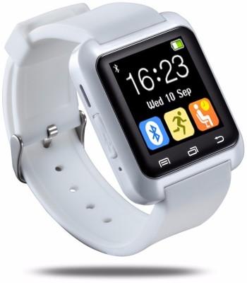 Bbroz U8 White Smartwatch (White Strap NA)