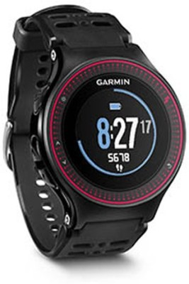 Garmin Forerunner 225 With Wrist Heart Rate Monitor Smartwatch (Black Strap)