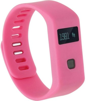 Bs Spy 100 % ORIGINAL FITNESS BAND WITH PEDOMETER PINK Smartwatch (Pink Strap free)