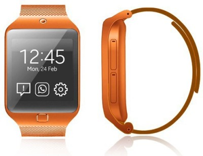 Kenxinda Mobile Cool Orange Smartwatch (Orange Strap Free Size)