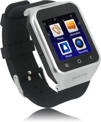 Zgpax Smart Watch Phone Black Smartwatch (Black Strap)