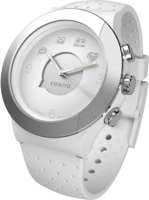 COGITO Fit Smartwatch (White Strap)