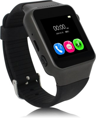 Kingshen S39 Watch Phone Smartwatch (Black Strap)