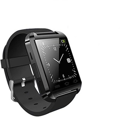 Epresent Smart Wrist Watch Black Smartwatch (Black Strap)