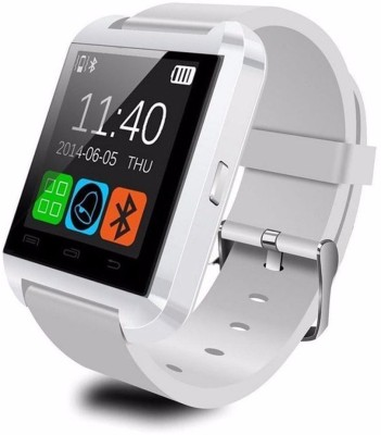 OPTA Basic Bluetooth Smart Watch Android and IOS series Smartwatch (White Strap)