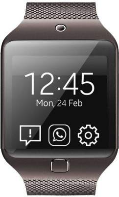 Kenxinda W3 Smartwatch (Brown Strap)