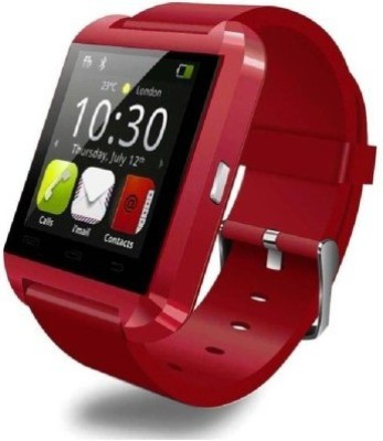 ShopAIS U8 Red Smart Smartwatch (Red Strap)