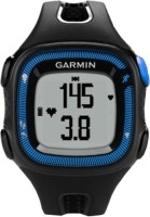 Garmin Forerunner 15 (Blue Case) Smartwatch (Black)