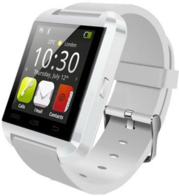 M ZONE GADGET MZU8 Smartwatch (White Strap 1.44 INCH)
