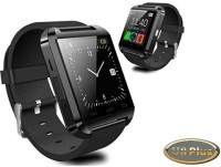 Original U8 Plus Smart WristWatch Fit For Smartphones Android IOS Smartwatch (Black Strap)