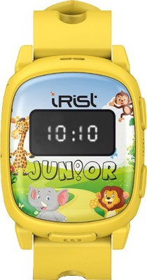 Intex iRist JUNIOR Yellow Smartwatch (Yellow Strap)