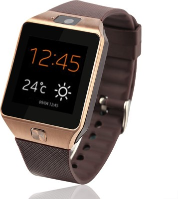 Beza SmWatch2x Smartwatch (Brown Strap)