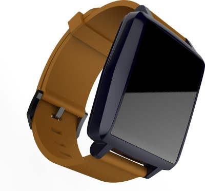 Intex IRIST PRO Smartwatch (Brown Strap)