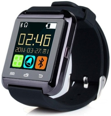 Qtec SWU8 Smartwatch (Black Strap)