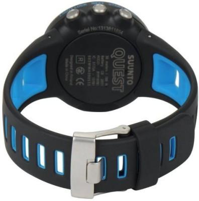 Suunto SUUNTO QUEST(BLUE) Smartwatch (Blue Strap)