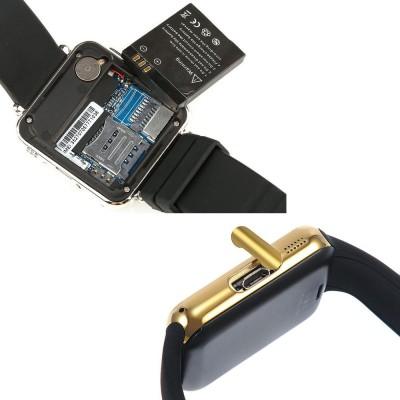 Callmate A 1 Smartwatch (Black Strap)